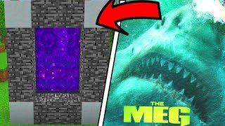 Download How To Make a Portal to the MEGALODON Dimension in Minecraft PE Video