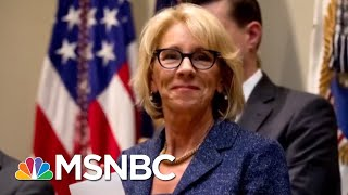 Download Exposed: Betsy DeVos's Record Of Dismantling Student Protections | The Beat With Ari Melber | MSNBC Video