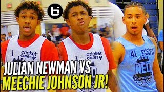 Download Julian Newman vs MEECHIE ″I AINT MISSING!″ JOHNSON Jr! 43 Points at NEO! Video