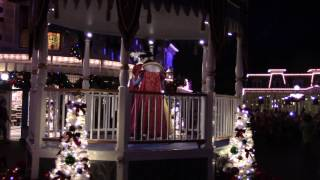 Download Mickey's Once Upon A Christmastime Parade - Very Merry Christmas Party 2016, Magic Kingdom Video