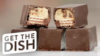 Download DIY Cookie Dough Kit Kats | Get the Dish Video