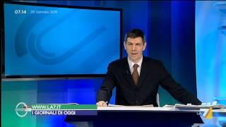 Download Omnibus - Rassegna stampa (Puntata 29/01/2015) Video