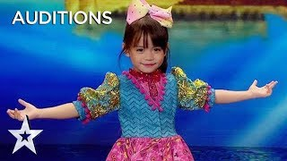 Download Kid Dancer Zeexhie Makes the Audience Melt With Every Word! | Asia's Got Talent 2019 on AXN Asia Video