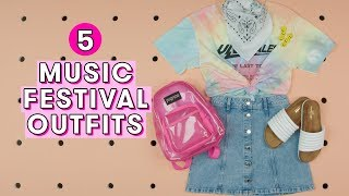 Download 5 Music Festival Outfits | Style Lab Video