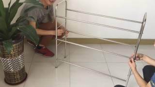 Download Nex Dish Rack 2-Tier Stainless Steel Dry Shelf assemble Video