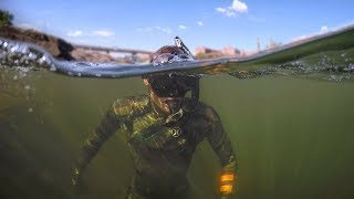 Download Found Boat Motor and Anchors while Swimming in River! (Freediving) Video