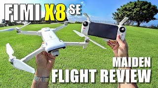 Download Xiaomi FIMI X8 SE Maiden Flight Test Review - [Lots of Pros & Lots of Cons] Video