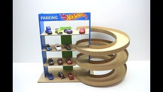 Download How to make Parking for cars Hot Wheels from cardboard Video