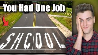 Download You Had One Job (Funny Fails) Video