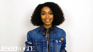 Download Yara Shahidi Shares the First Time She Fell in Love With Her Hair | Teen Vogue Video