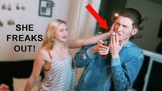 Download SMOKING CIGARETTE PRANK   Little Sister Breaks Down Video