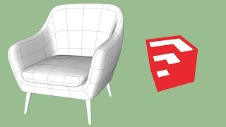 Download Club Chair Modeling in SketchUp Video