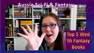 Download Top 5 Wednesday YA Fantasy Books Video