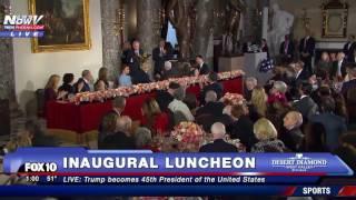Download Inaugural Luncheon PLUS Donald Trump Speech Video