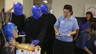 Download Blue Man Cake Video