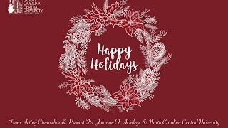 Download Happy Holidays from NCCU 2016 Video