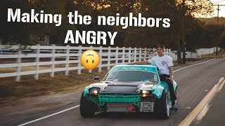 Download NEIGHBORS CALLED COPS ON DRIFTING RX7?! Video
