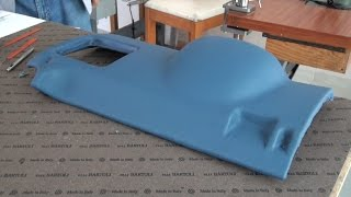 Download A Plastic Piece Wrapped in Leather - Auto Upholstery Video