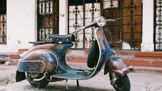 Download barn find 1965 vespa, will it run ? Video