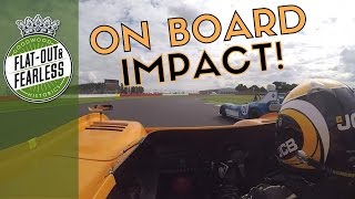Download 900bhp McLaren and screaming V12 Matra collide at Silverstone Video