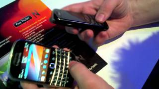 Download NFC on the BlackBerry Bold 9900 Video