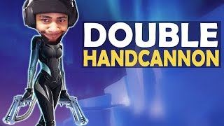Download DOUBLE HANDCANNON | DEAGLE BOPPING BROTHERS | HIGH KILL FUNNY GAME - (Fortnite Battle Royale) Video