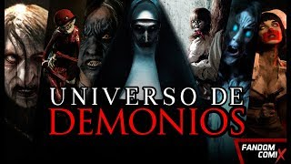 Download Universo Cinematográfico de Demonios (El Conjuro) Video