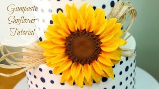 Download How to Make a Gumpaste Sunflower Video