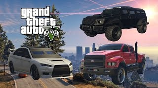Download GTA 5 - How To Get All The Heist Vehicles In Storymode Xbox360/PS3 ( Hydra,Kuruma,insurgent ) Video