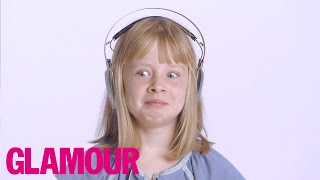 Download 8 Year Old Tries 54 Things For The First Time | Lifestyle | Glamour Video