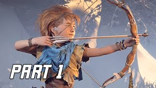 Download Horizon Zero Dawn Walkthrough Part 1 - FIRST 1.5 HOURS! (PS4 Pro Let's Play Commentary) Video