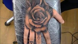 Download Rose tattoo - time lapse Video