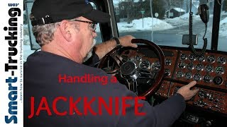 Download How to Handle a JackKnife - A Critical Professional Truck Driver Skill Video