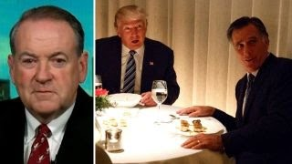 Download Huckabee: Romney eats big slice of crow at dinner with Trump Video