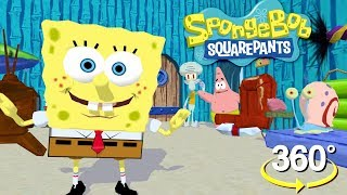 Download Spongebob Squarepants! - 360° Where's Gary? - (The First 3D VR Game Experience!) Video