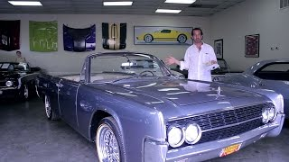Download 1962 Lincoln Continental Convertible for sale with test drive, driving sounds Video
