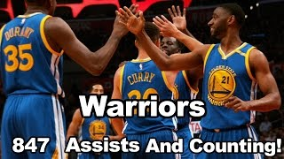 Download Warriors Have 186 Assists More Than The Next Closest Team! Video