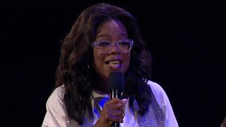 Download Oprah Debuts 'A Wrinkle in Time' Trailer at Disney's D23 Convention: 'Everybody Here Gets a Poster' Video