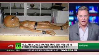 Download Area 51 'joke' turning dangerous Video