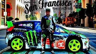 Download Ken Block San Francisco Drift - dubstep (2013 1080p HD) Video