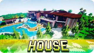 Download Minecraft - Beautiful Modern House - Map w/ Download Video
