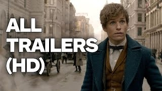 Download Fantastic Beasts and Where To Find Them - All Trailers (2016) Video
