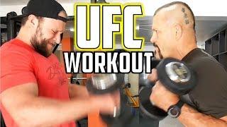 Download EPIC Arm Workout w/ Chuck Liddell! Video