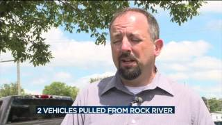 Download 2 vehicles pulled from Rock River Video