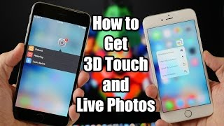 Download How to Get 3D Touch and Live Photos on Older iPhones Video