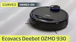 Download Ecovacs Deebot OZMO 930 im Test: der Superleise-Sauger im Hands-on   deutsch Video