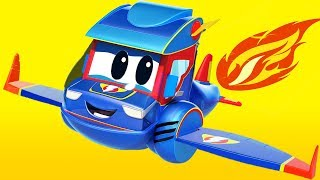 Download Truck videos for kids - THE SUPER PLANE ! Super Truck in Car City. Video