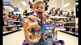 Download 4 Year Old Tydus FORTNITE TOYS REVIEW!! Video