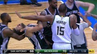 Download FIGHT | Spurs vs Bucks | 12\5\2016 Video