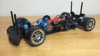 Download Tamiya TA05 VDFII Drift Chassis Kit Electronics Install Video